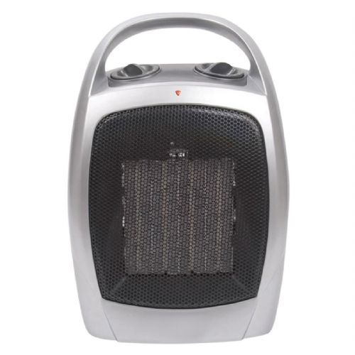 1.8 kW Ceramic Heater with Adjustable Thermostat EH0150 UK Plug Style 240V~50Hz
